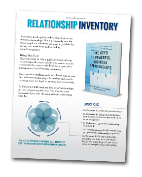 Relationship Inventory Tool